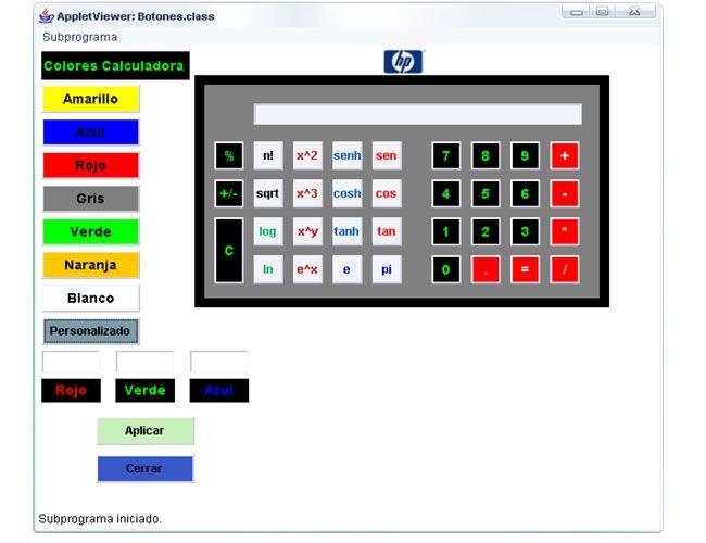 Calculadora científica hecha en Java