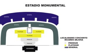Mapa de localidades Estadio Monumental (clic en la imagen para ampliar)